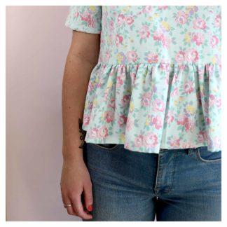 blouse-PALOMA-mint-dameline-upcycling-fashion