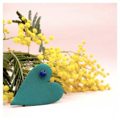 broche-coeur-bijouxtissus-upcycling-vert